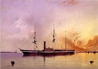 USS <i>Powhatan</i> (1850) ship