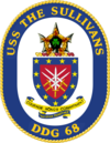 USS The Sullivans crest.png