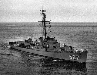 USS <i>Thomas F. Nickel</i> (DE-587)