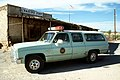 US Border Patrol automobile in Texas, 1990.JPEG