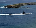 US Navy 020521-N-9885M-002 USS Tucson - transit to Apra Harbor, Guam.jpg