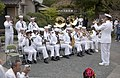 US Navy 050520-N-9851B-013 The 7th Fleet Band performs before a ceremony memorializing the Sailors who died on Commodore Matthew Perry's journey to Japan.jpg