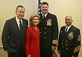 US Navy 060114-N-0191T-056 41st President George H.W. Bush at USS San Antonio commissioning.jpg