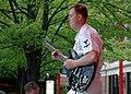 US Navy 060520-N-3342W-010 Musician 3rd Class Joe Gaciocho of the Great Lakes Navy Band Rock Ensemble.jpg