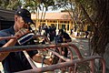 US Navy 071116-N-0807W-214 Mine countermeasures ship USS Patriot (MCM 7) and USS Guardian (MCM 5) Sailors renovate playground equipment at the School for Blind Children of Hai Phong, during a community service project.jpg