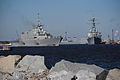 US Navy 100216-N-1522S-008 The littoral combat ship USS Freedom (LCS 1) departs Naval Station Mayport for its first operational deployment.jpg