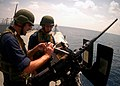 US Navy 100713-N-0995C-025 Sailors participate in a gunnery exercise for CARAT Singapore 2010.jpg