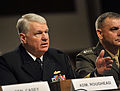 US Navy 101203-N-8273J-113 Chief of Naval Operations (CNO) Adm. Gary Roughead testifies before the Senate Armed Services Committee about the Compre.jpg