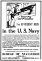 US Navy recruitment advert in Popular Mechanics 1908.png