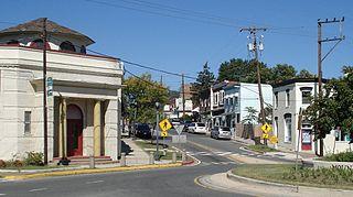 Mount Rainier, Maryland City in Maryland