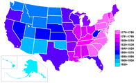 US states by date of statehood gradient.PNG
