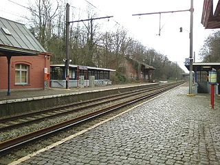 Uccle-Stalle railway station railway station in Belgium