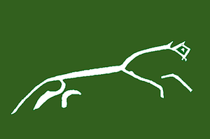 Rohan (Middle-earth) - Image: Uffington White Horse layout