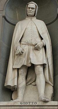 Sa statue au piazzale des Offices à Florence