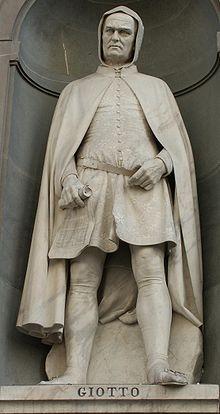Statua di Giotto, Galleria degli Uffizi, Firenze