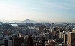 Uitzicht vanuit het stadhuis van Hiroshima over de wijk Naka-ku, -5 december 2007 a.jpg