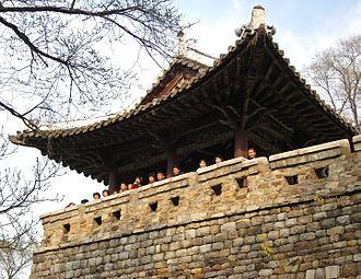 National Treasure (North Korea) - Ulmildae, the 19th national treasure of Korea.