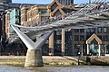 Under the Millennium Bridge, London (geograph 4907090).jpg