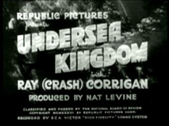 Undersea Kingdom - Title Screen of Undersea Kingdom (1936)