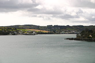 Union Hall, County Cork - Union Hall as seen from the neighbouring settlement of Glandore
