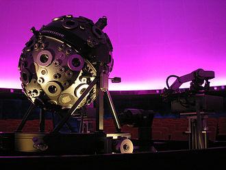 Hamburg Planetarium - Universarium Mark IX projector (2007)