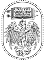 University of Chicago Press logo - modified from Wikipedia source file.png