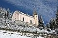 Untertilliach, Kath. Filialkirche hll. Ingenuin und Albuin (ehem. Pfarrkirche), Ansicht von Süden.JPG