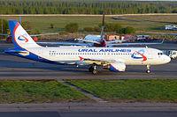 VP-BTZ - A320 - Ural Airlines