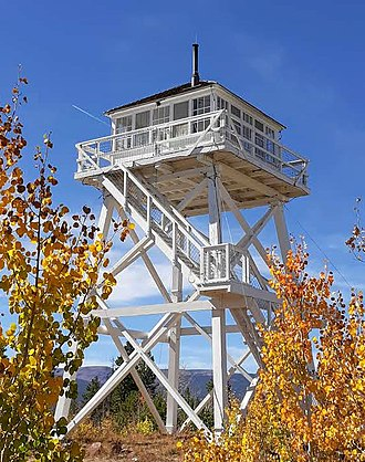 National Register of Historic Places listings in Daggett County, Utah - Image: Ute Mountain Fire Tower
