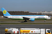 VP-BUJ - B752 - Uzbekistan Airways