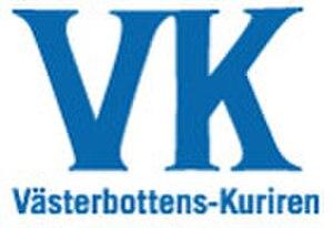 Västerbottens-Kuriren - Image: Västerbottens Kuriren logo
