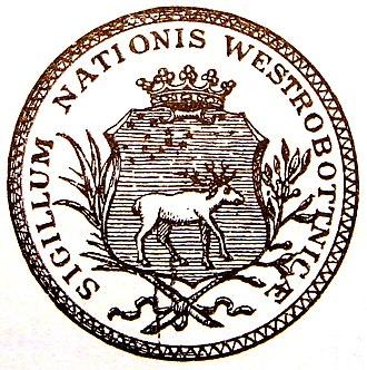 Norrlands nation - Image: Västerbottniska nationens sigill