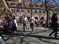 VI. Der Marstall ältestes mittelalterliches Gebäude Heidelbergs beherbergt heute die Mensa der Universität.JPG