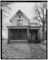 VIEW OF SOUTH FRONT - Conrad Fox, Jr. House, 3500 Rapids Court, Mount Pleasant, Racine County, WI HABS WIS,51-MTPLE,1-2.tif