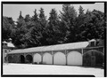 VIEW OF STABLES, FROM SOUTHWEST - Lyndhurst, Stables, 635 South Broadway, Tarrytown, Westchester County, NY HABS NY,60-TARY,1D-2.tif