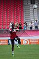 Valais Cup 2013 - OM-FC Porto 13-07-2013 - Brice Samba à l'échauffement.jpg