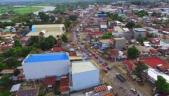 Valencia, Bukidnon - Aerial view of Valencia City