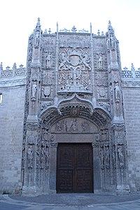 Fachada principal del Colegio de san Gregorio