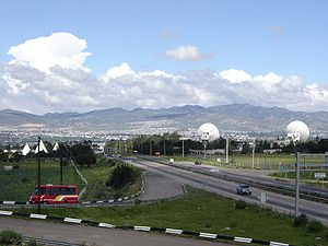 Tulancingo - The Tulancingo valley
