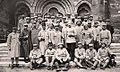 Valréas 5ème section d'élèves officiers composée d'artilleurs et de fantassins, le 5 avril 1916.jpg
