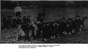 1906 Carlisle vs. Vanderbilt football game - Image: Vanderbilt Commodores (team picture, 1906)