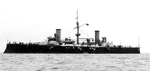 Italian cruiser Varese - Varese soon after completion, circa 1900