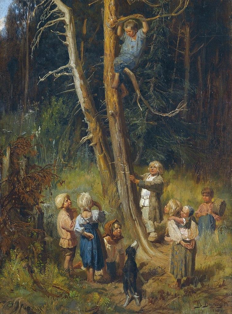 Calendar Art Wikipedia : File vasnetsov children in forest g wikimedia commons