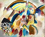 Vassily Kandinsky, 1913 - Landscape With Red Spots.jpg