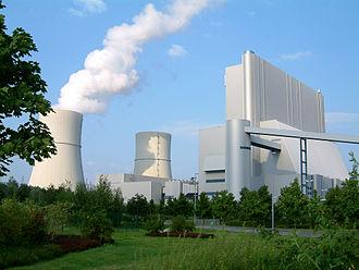 Schwarze Pumpe power station - Image: Vattenfall Kraftwerk Schwarze Pumpe