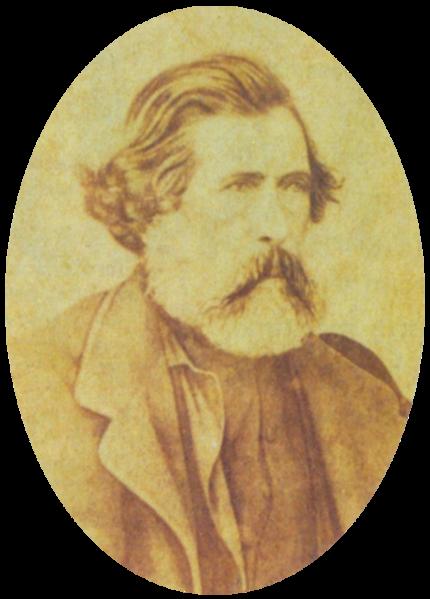 Venancio Flores, Uruguayan president, c.1865.