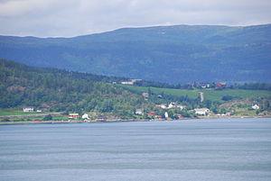 Venneshamn - View of the village