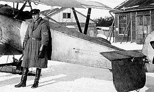 Verner Lehtimäki - Verner Lehtimäki as a Soviet pilot
