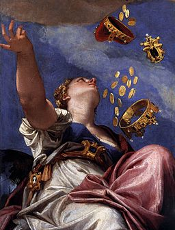 Veronese, Paolo - Juno Showering Gifts on Venetia (detail) - 1554-56