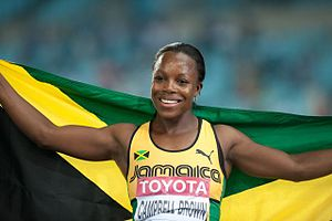Veronica Campbell-Brown - Veronica Campbell Brown at the 2011 World Championships